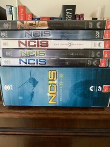 DVDs NCIS Season 1-10 Inclusive As New