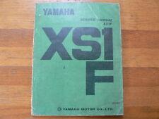 YAMAHA AS1F 650 CC TWIN 1970 SERVICE MANUAL MOTORCYCLE MOTORRAD BIKE
