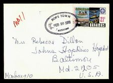 DR WHO 1978 BAHAMAS HOPE TOWN TO USA C242878