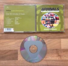 ARRIVALS - MIXED BY THE FORTH - GLOBAL UNDERGROUND MIX CD / ALBUM SAMPLER