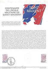 DOCUMENT PHILATÉLIQUE - YT 2140 - 1er JOUR 1981