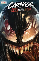 CARNAGE: BLACK, WHITE & BLOOD #1 (MICO SUAYAN EXCLUSIVE VARIANT) ~ Marvel Comics