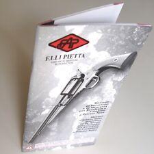 PIETTA Revolvers Manuale di Istruzione Manuel d'Instructions Polvere Nera Poudre