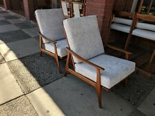 Retro Parker Arm Chairs Restored & Recovered