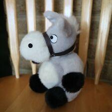 """Grove International - Grey Donkey - Soft Toy - Plush Teddy - 7"""""""