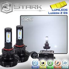 New Z ES LED 8000LM Kit 6000K White Headlight Light PAIR - Real Size 9012