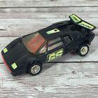 Vintage Transformers G2 Sideswipe Figure Black Lamborghini Autobot Rare 1992