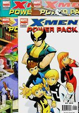 X-MEN - POWER PACK Limited Series (4 issues) Marvel, 2006. Original edition USA