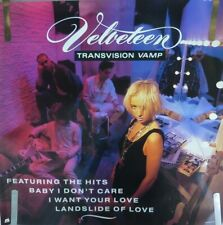Rare Transvision Vamp Velveteen 1989 Vintage Original Music Store Promo Poster