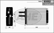 RADIATORE RISCALDAMENTO FIAT BARCHETTA 1.8 16V FIAT PUNTO 93>99