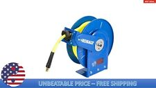 Kobalt 3/8-in 50-ft Poly Hybrid Air Hose with Retractable Hose Reel 300 PSI