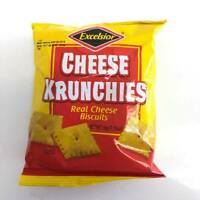 Excelsior Cheese Krunchies Real Cheese Biscuits From Jamaica (3 Pack)