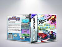 Sega Arcade Gallery - GBA - Replacement Cover / Case (NO Game)