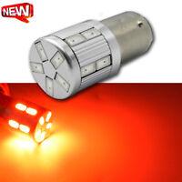 2x LED BA15D 1142 AC/DC12V 5630 17smd RED Car Brake Rear Tail Stop Bulb Light