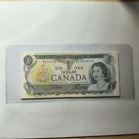 1973 Canada 1 Dollar bill   10 CONSECUTIVE NOTES UNC Condition