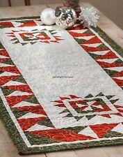 Christmas Bear Table Runner Quilt Pattern Pieced JW