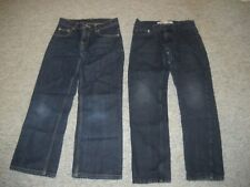2 PAIRS BOYS JEANS LOT~SIZE 10 REG~LEVIS SKINNY FIT & F. GLORY BOOT CUT RELAXED