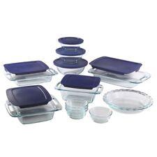 Pyrex 19-Piece Easy Grab Bakeware Set W