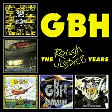 GBH - Rough Justice Years [New CD] Boxed Set, UK - Import