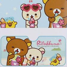 San X Rilakkuma with Friends Windshield Front Window Sun Shade Auto Accessories