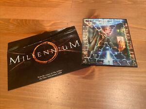 Rare 1990s Chris Carter Series Postcards; The X Files Trivia Game and Millennium