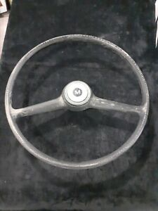 Austin Mini Cooper BMC MK Morris steering wheel vintage antique