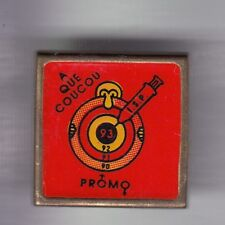 RARE PINS PIN'S .. ONG MEDECINE MEDICAL INFIRMIERE NURSE FALUCHE PROMO ISP 93~ED