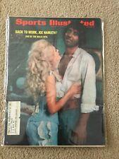 FM5-44 Sports Illustrated Magazine JOE NAMATH JETS 8-17-1970