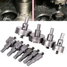 10-pc 16-53mm carbure conseils TCT Foret scie-cloche Acier Inox alliage pièces