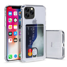 IPhone Case With Pocket Clear Wallet Credit Card Cover For iPhone 11/ Pro/ MAX