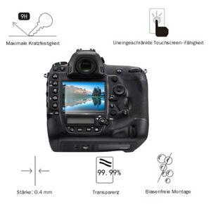 Nikon D5 / D500 0,4 mm Adhäsion Displayschutzglas Schutzfolie LC7627