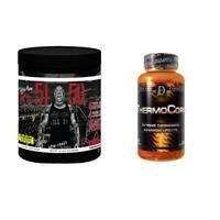 Rich Piana 5% Nutrition 5150 Pre Workout  + THERMOCORE Fat Burner COMBO STACK