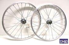 """Cerchi Ruote Bicicletta 20"""" bici MTB anteriore posteriore Mountain Bike filetto"""