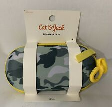 NEW Cat & Jack Camo Sunglass Case
