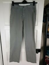 Mens Polo Ralph Lauren Chino Trousers Grey Classic Fit W30 L32 Nwt