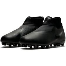 size 40 82e7b 314bd Nike Jr Phantom VSN Academy DF Fg mg Soccer Cleats Tri Black Ao3287-001