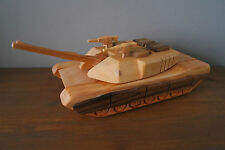 High quality wooden toy, Tank Abrams- vintage style, handmade, hand crafted