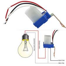 Auto On Off Photocell Day Night Sensor Light Switch (AC 220V, 50-60Hz, 10A)