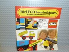 LEGO ® catalogue brochure catalog brochure c76de1 de 1976 LEGO concepteurs b288