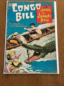 Congo Bill #2 GD (11/54) DC Nick Cardy Cover!