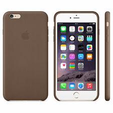 Original Apple Housse Etui Coque Case Cache Arrière Véritable Cuir iPhone 6 Plus