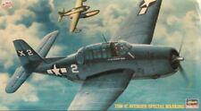 Hasegawa 1:72 TBM-1 C Avenger Special Marking US Navy Plastic Kit #AP133 #51393U