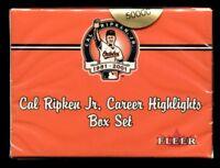 20-2001 Fleer Cal Ripken Jr Career Limited Edition Sealed 60 Card Boxed Set Case
