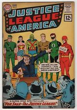 Justice League of America 8 solid 1962 DC Flash Wonder Woman create-a-lot & save