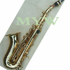 Gold Lacquer Brass soprano Saxophone kit new S shape  #2679