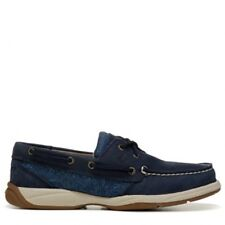 Sperry Top-Sider Intrepid Womens Blue COGNAC Boat Shoes SZ 5.5 M
