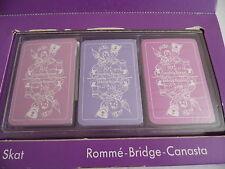 Mackintosh's Skat, Romme-Bridge-Canasta Spiele siehe auch Fotos