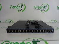 Scratches HP JG542A 5000-48G-PoE+-4SFP Network Switch w/ 2x 720W JG544A PSU