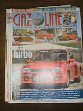 Gazoline N° 98 2004 Automobile retro Renault 5 turbo Rally ABC Simca 1000