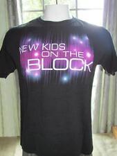 Mens New Kids On The Block 2011 Music Tour Black T Shirt Large